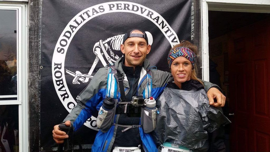 Crystal and Jesse at the 100 Mile Run