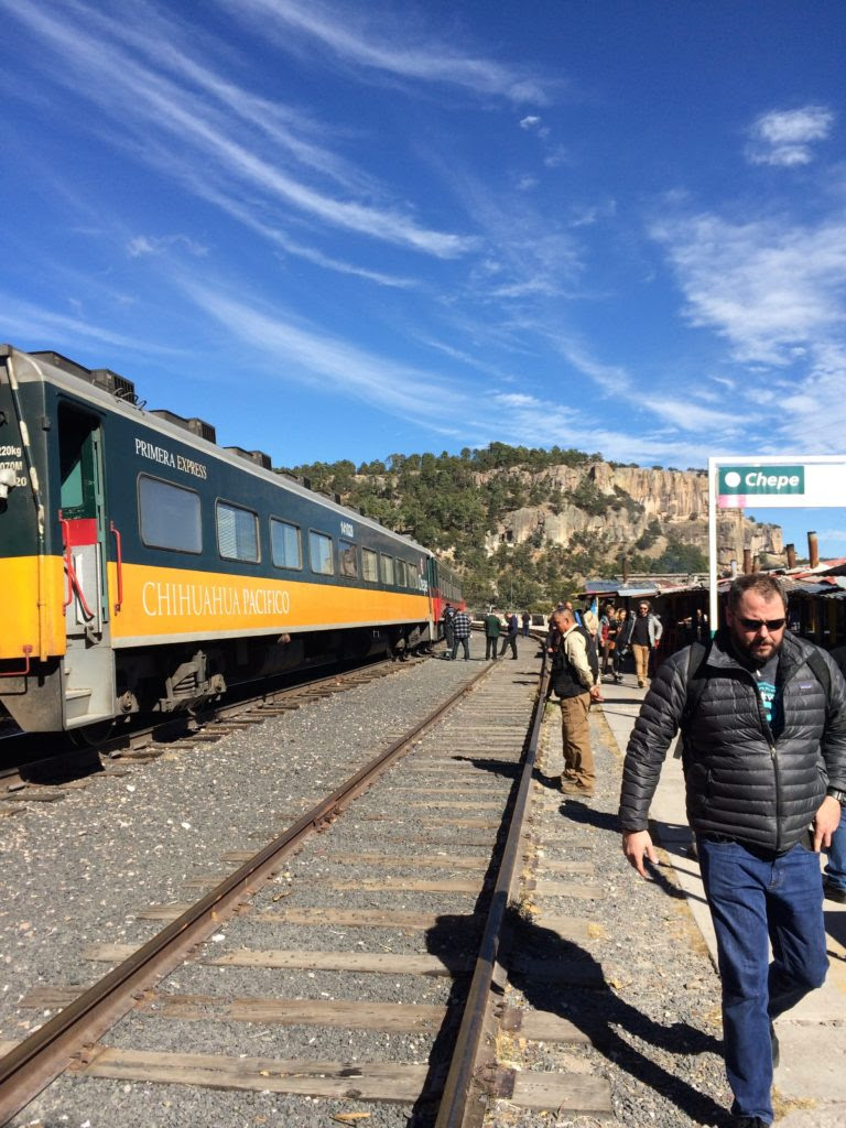 Train station at Copper Canyon