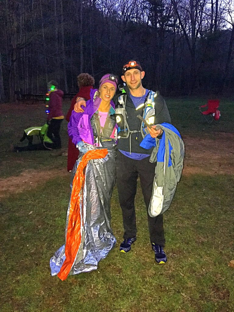 Crystal and Jesse after the Georgia Death Race