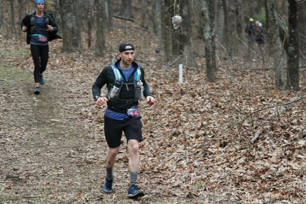 Jesse and Crystal running the Georgia Death Race