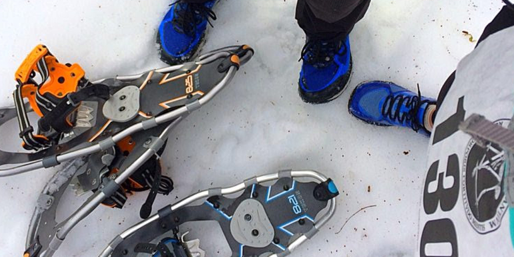 My First Snowshoe Race - Sans Snow | Crystal Seaver Blog