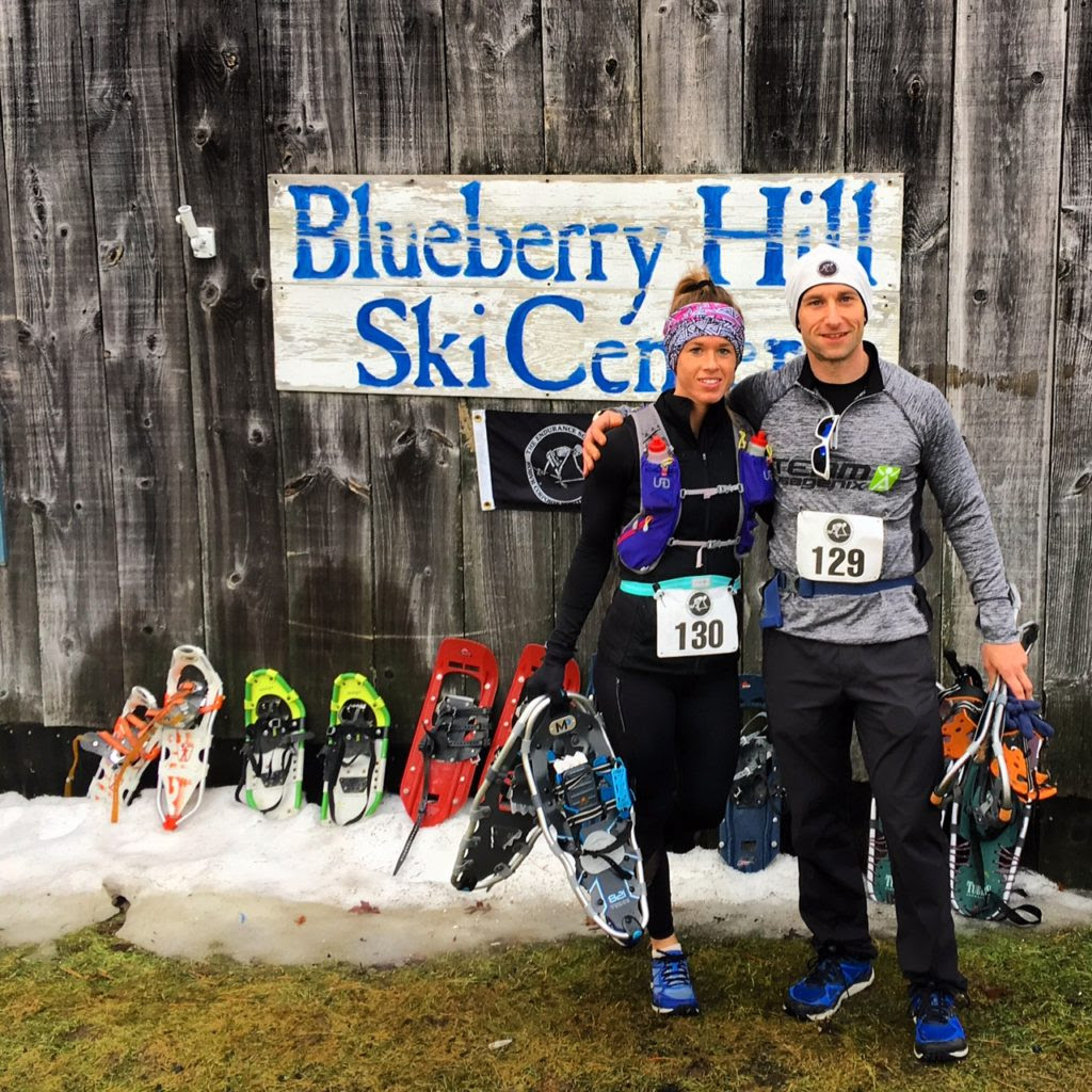 Photo of Crystal and Jesse at Blueberry Hill Ski Center